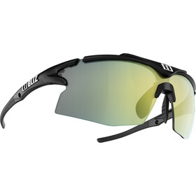 Bliz Tempo M12 Gafas, matt black/brown with gold multi